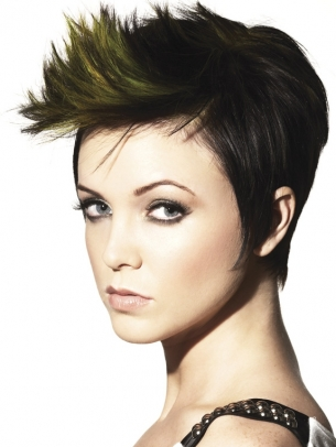 creative short hairstyles 2012