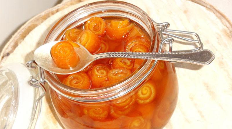 сладко от портокалови корички