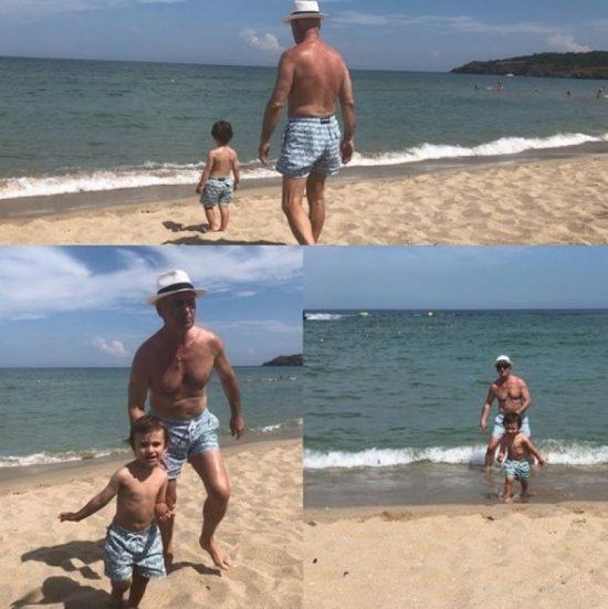 Волен Сидеров на плажа