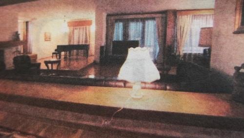 домът на президента и жена му