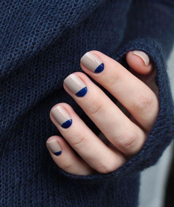 Елегантен дизайн за къси нокти 2020