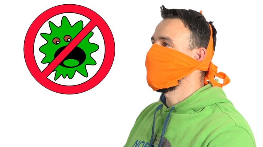 домашна маска от плат