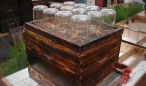 Кошер, направен от буркани ще повиши много добива на пчелен мед!