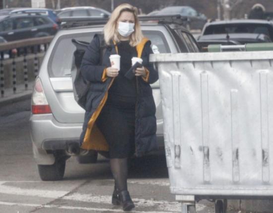 Лора Крумова на улицата