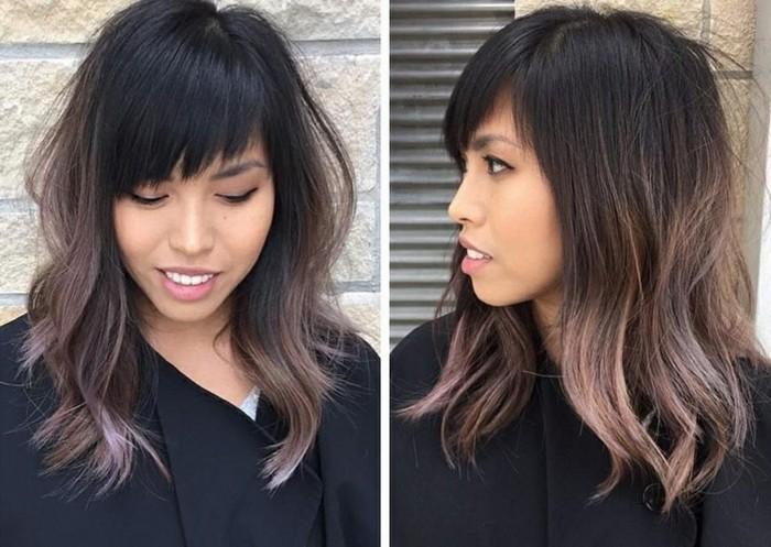 Модният шоколадово-лилав цвят