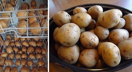 картофи в съдомиялната