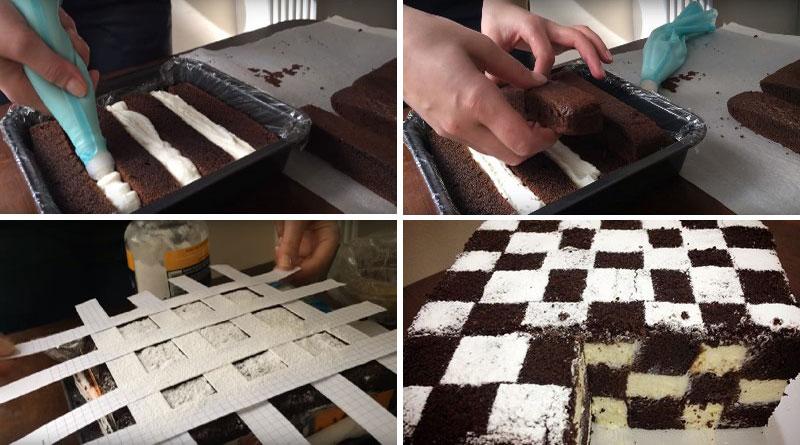 шахматна торта