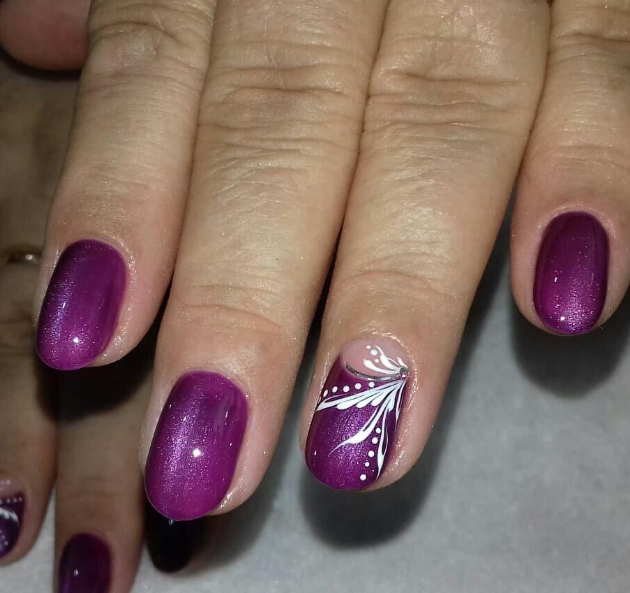 дизайн за къси нокти