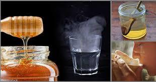 топла вода с мед