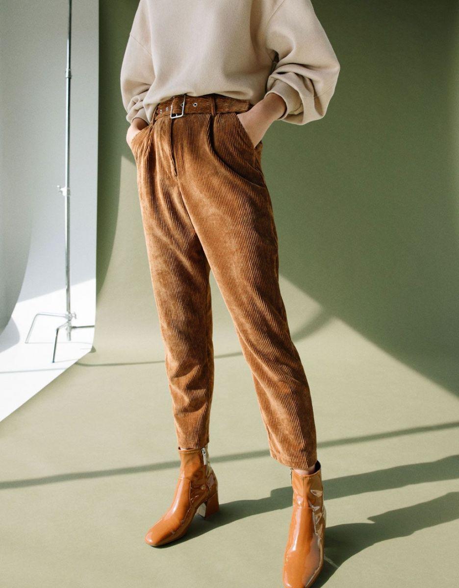 кадифен панталон есен
