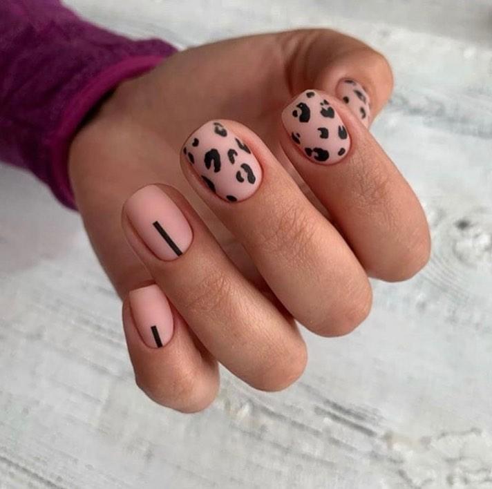маникюр за къса дължина на ноктите