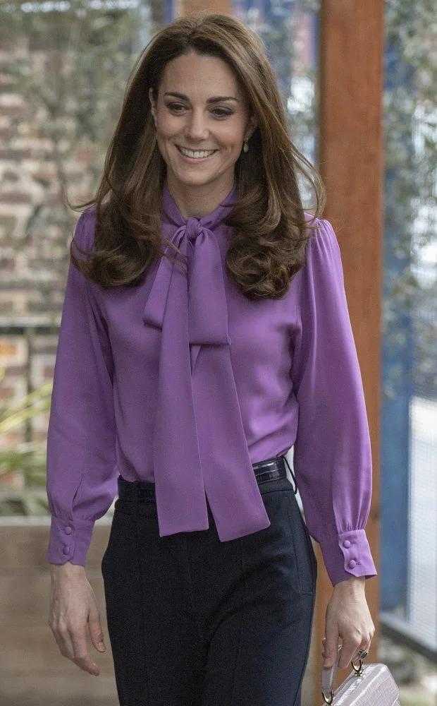 Кейт лилава блуза