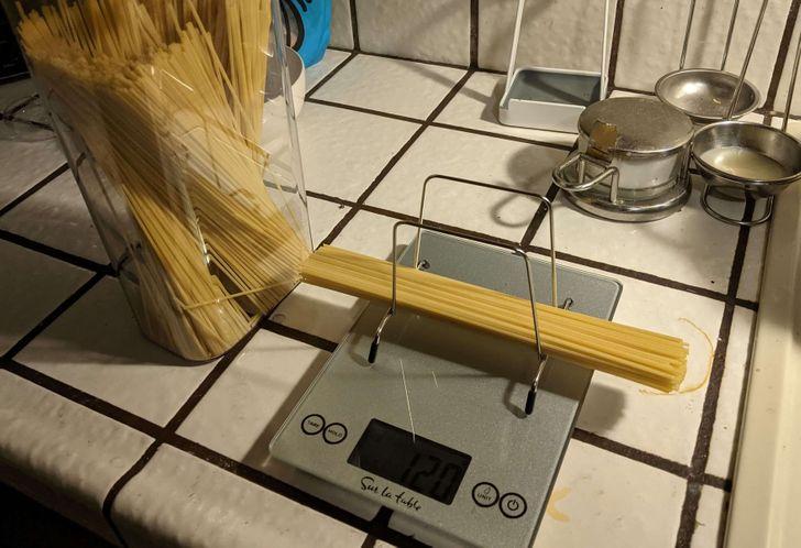 спагети на кантара