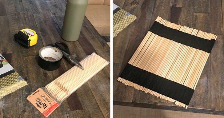 домашна постелка за суши