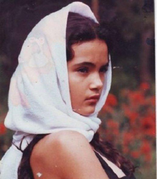 Мария като момиченце