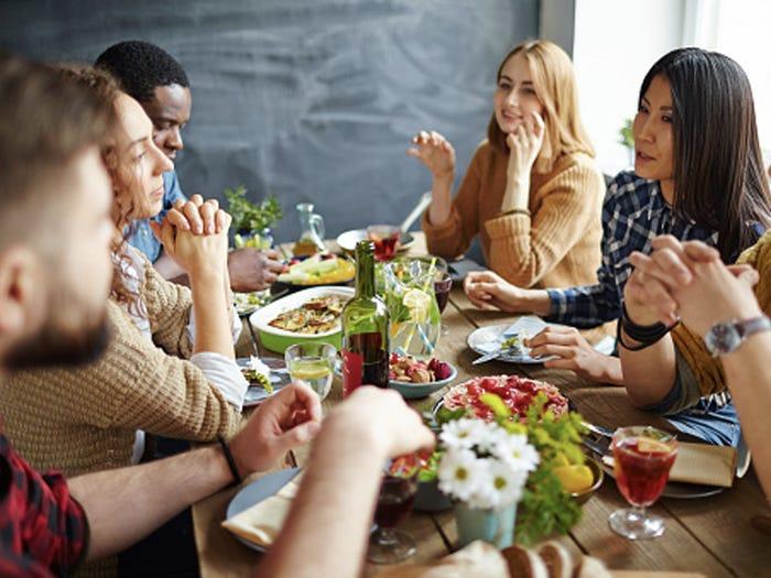 здравословна вечеря