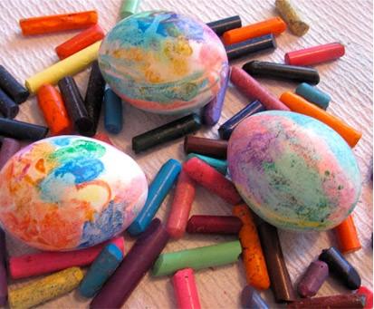 пастелени яйца
