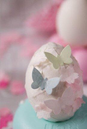 триизмерен стикери - Butterfly Великден 2015