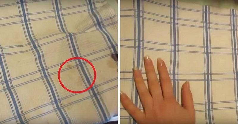 Избелване на кърпи
