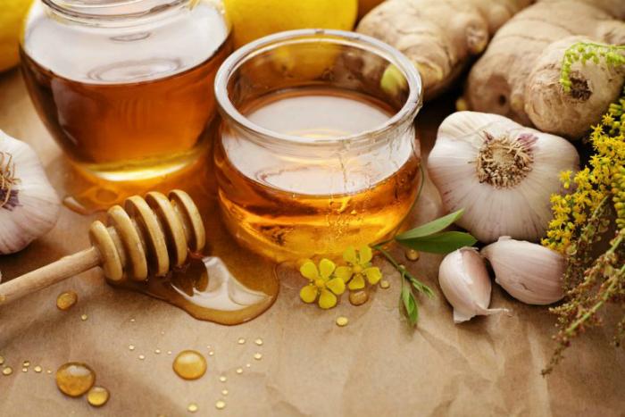 мед и чесън