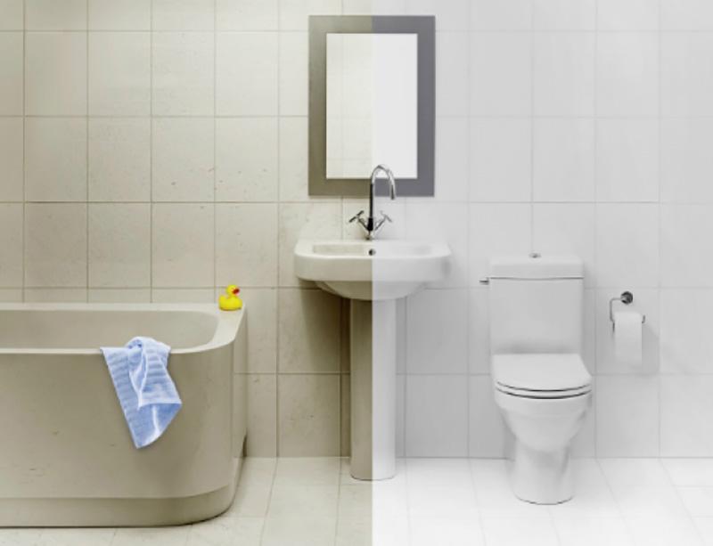 как бързо да почистите банята у дома