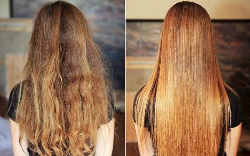 Как да изправите косата у дома