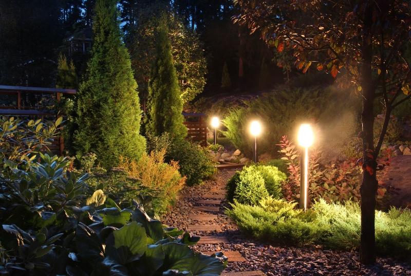 дизайн в градината