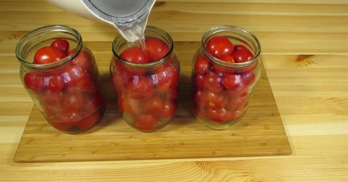 консервиране на домати