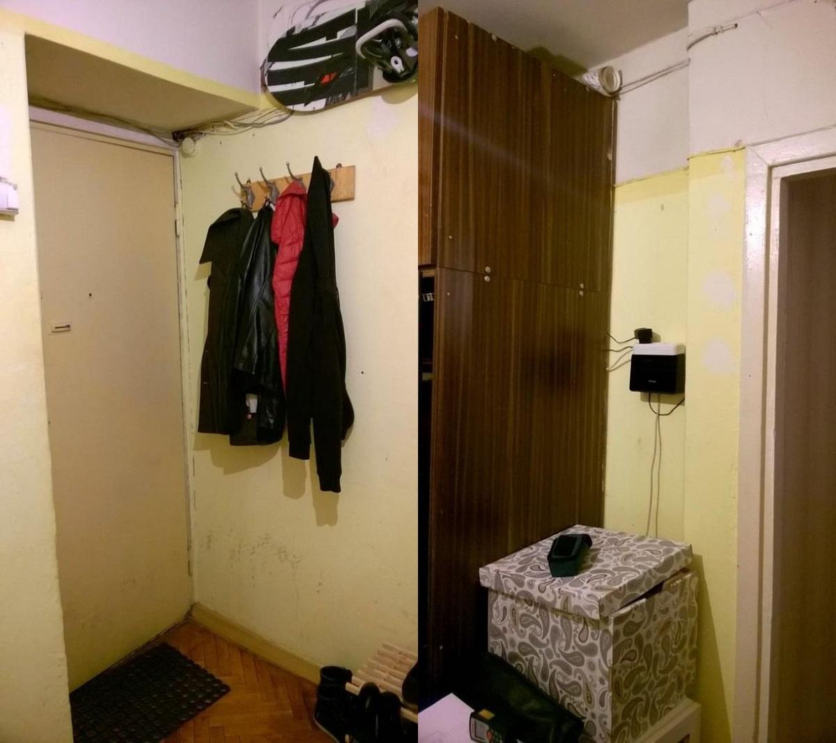 ремонт в малък апартамент
