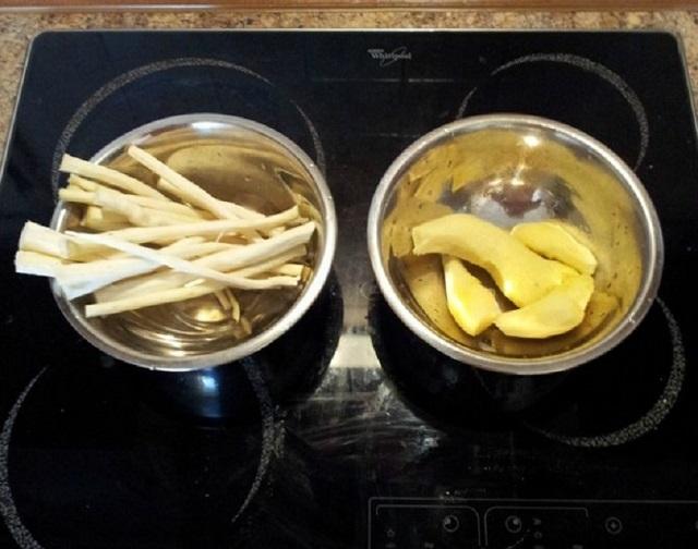 сироп с хрян и джинджифил