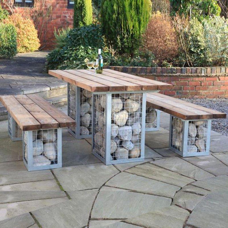 оригинални мебели за градината