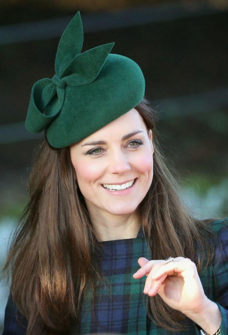 Кейт Мидълтън с шапка