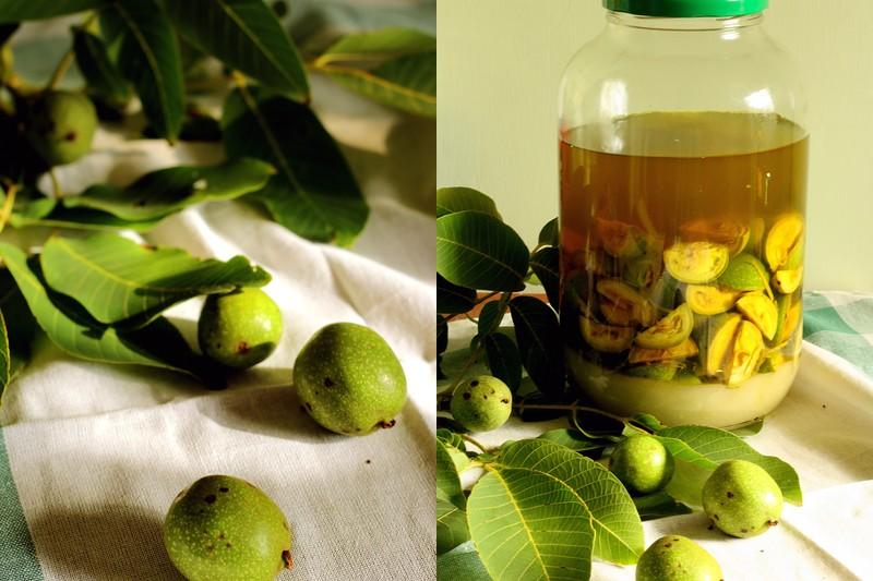Тинктура от зелени орехи