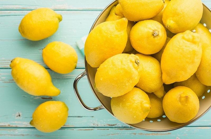 жълти лимони