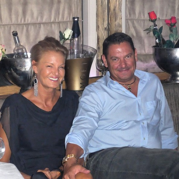 Стефка Костадинова с мъжа си