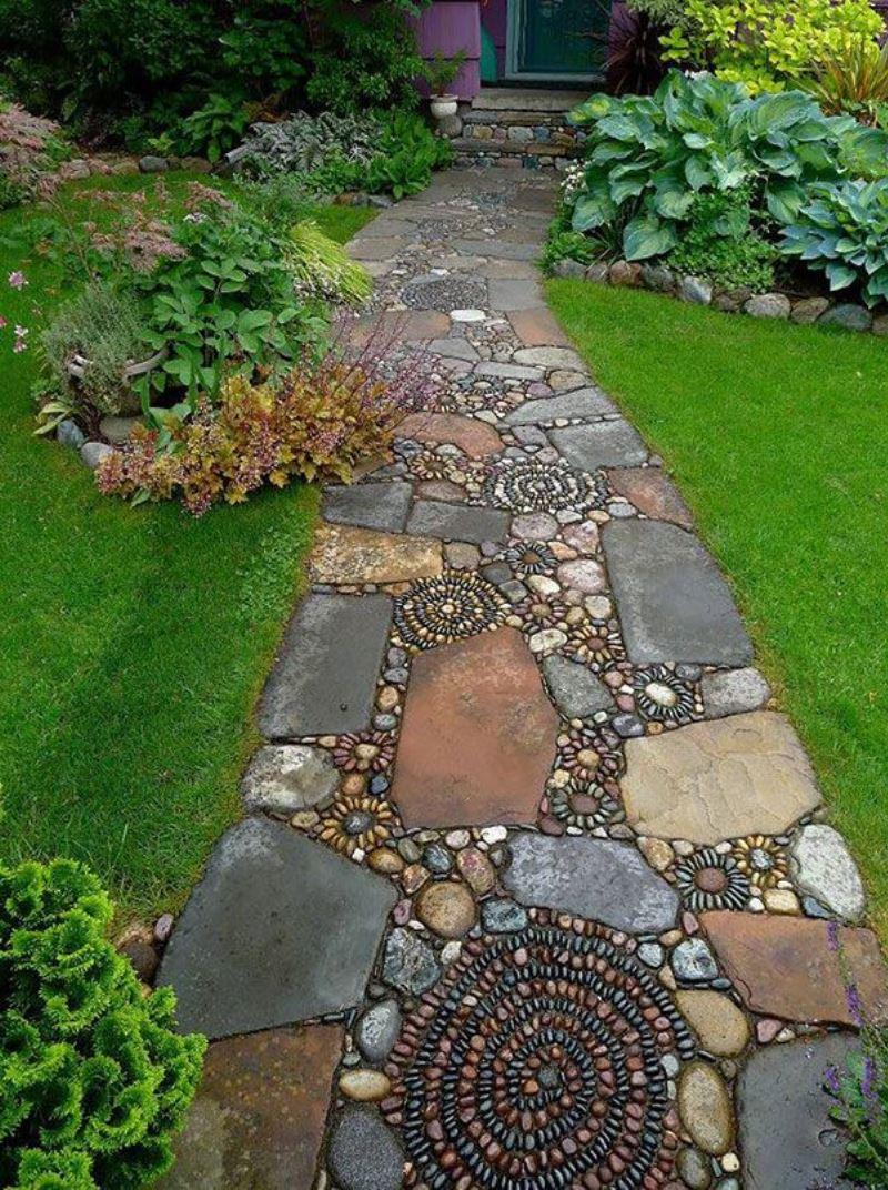 идеи за декорация в градината