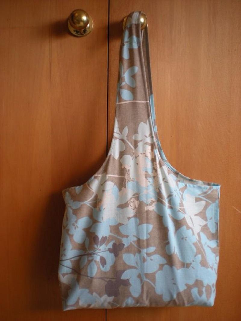 чанта от стари чаршафи