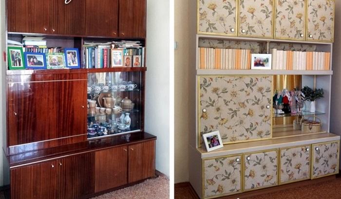 промяна на мебели от стари до нови