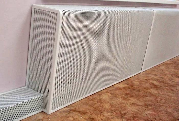 как да скриете радиатора в стаята