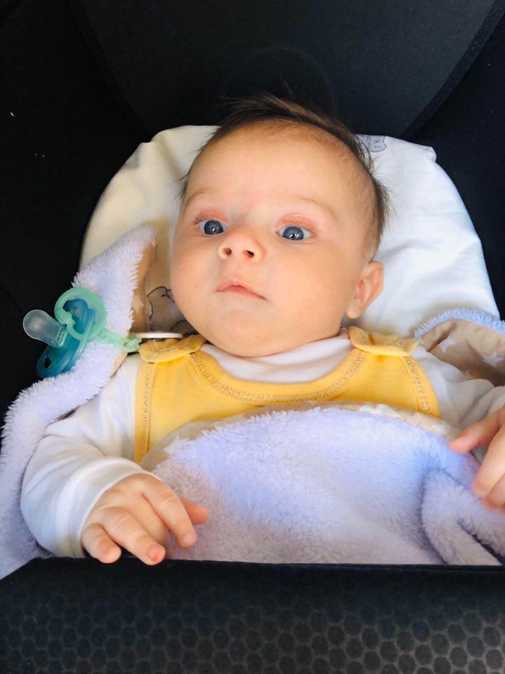 бебчето на Джулиана Гани