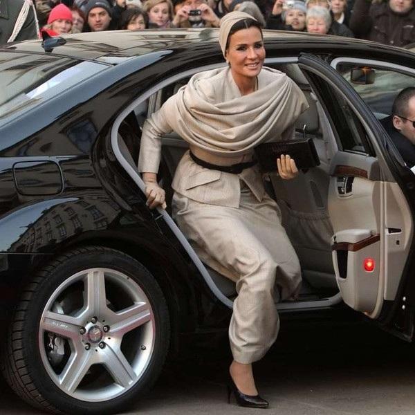 жената на емира на Катар
