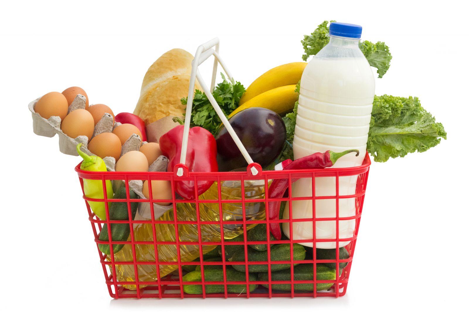 кошница продукти