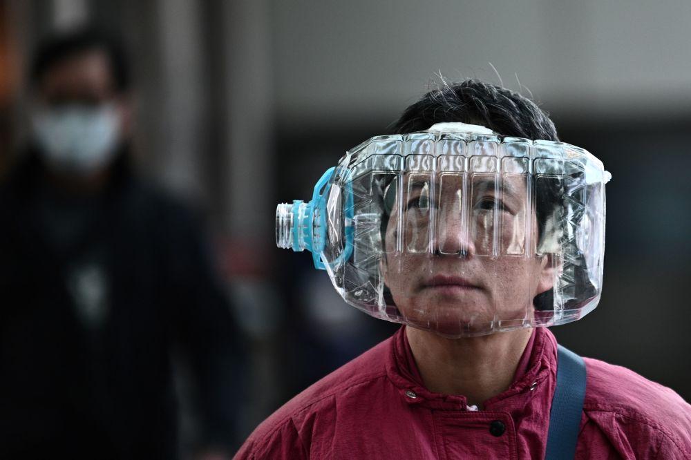 пластмасова маска