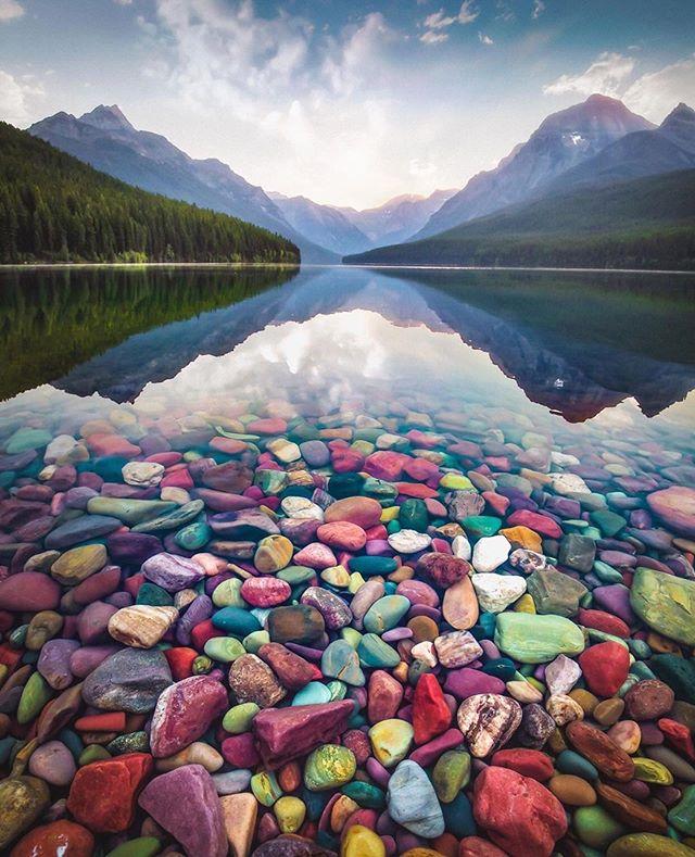 цветни камъчета