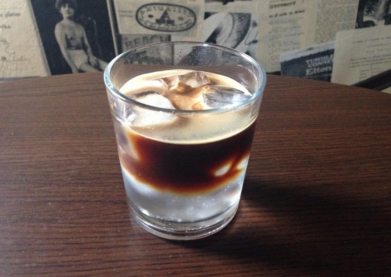 кафе с тоник