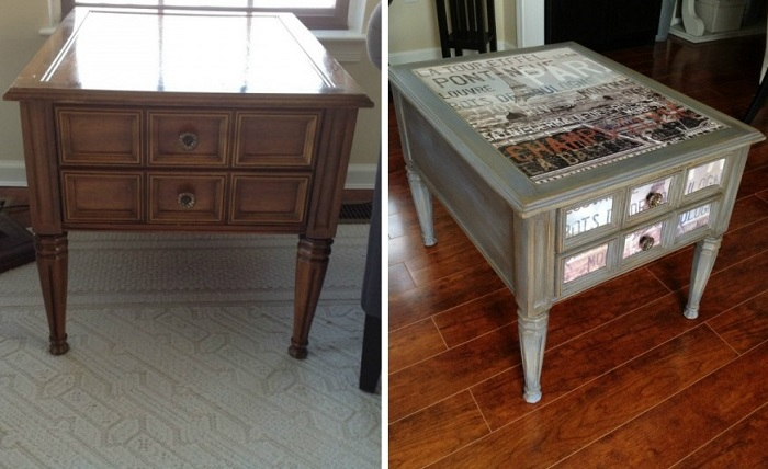 промяна на интериорни мебели