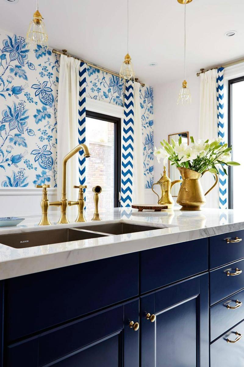 синя кухня 2018
