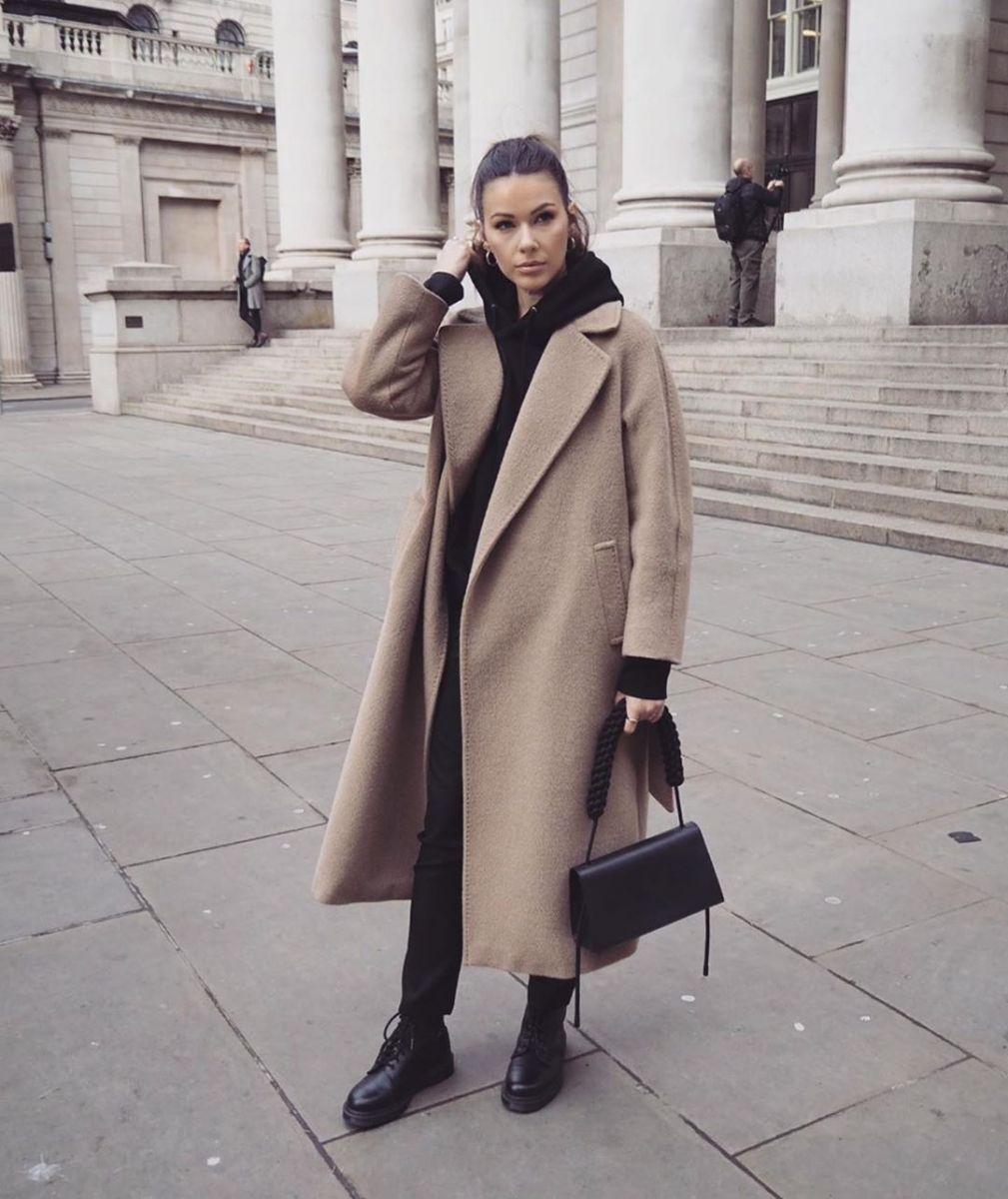 дълго свободно палто