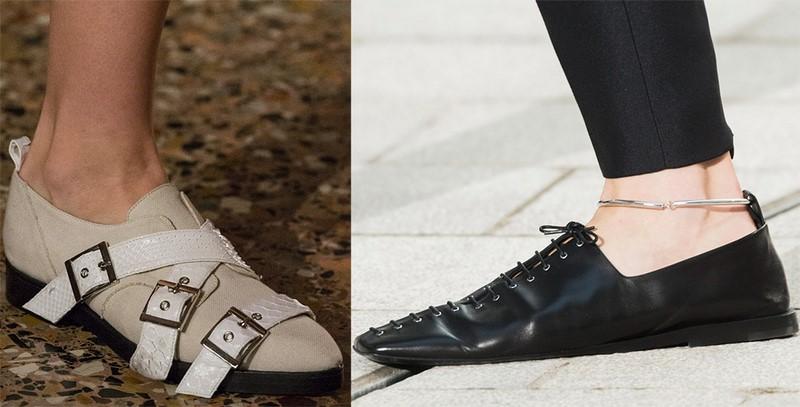 обувки 2018 пролетта на жените