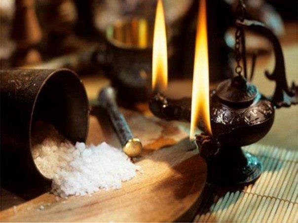очистване със сол